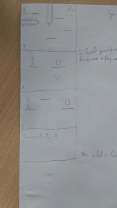 Early level design.